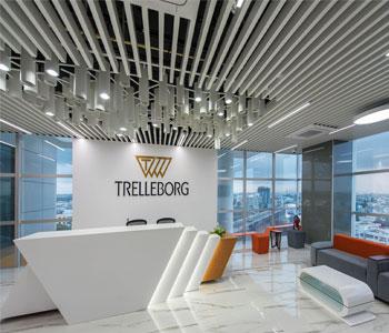 Tư vấn trang trí nội thất văn phòng công ty Trelleborg