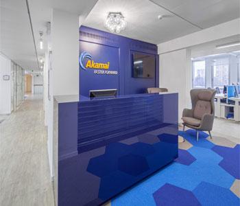 Tư vấn trang trí nội thất văn phòng công ty Akamai – Milan