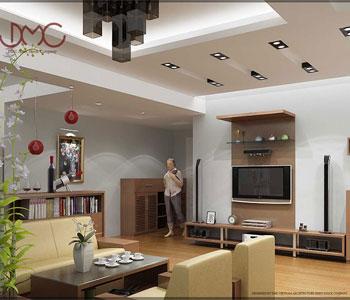 Thiết kế nội thất chung cư 100m2 ở Thái Thịnh  – Đống Đa