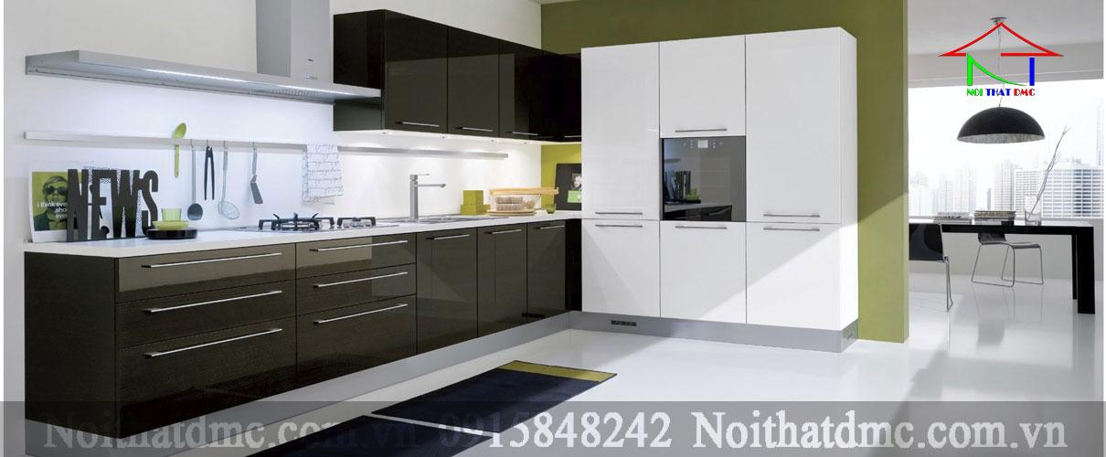 Tủ bếp Laminate cao cấp -TB02 đẹp và sang trọng
