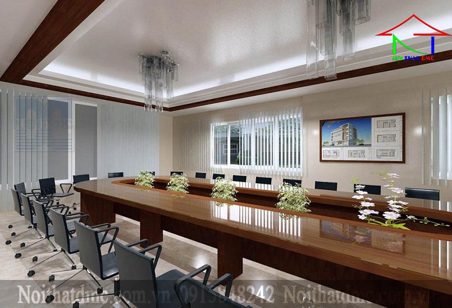 Thiết kế nội thất văn phòng công ty phú mỹ thành