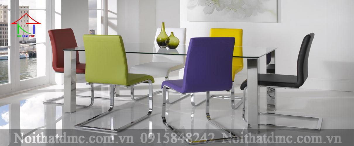 Bàn ghế ăn cao cấp – BGACC-01