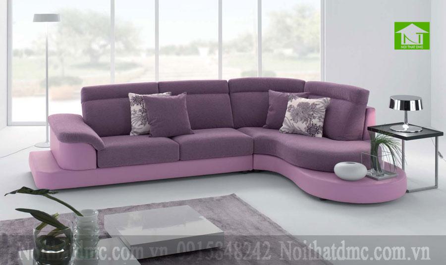 Bộ sofa phòng khách tím cuốn hút BGPKF10