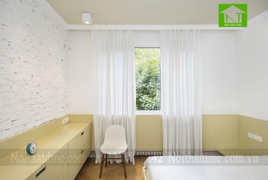 Mẫu thiết kế nội thất chung cư 47m2 ở Sofia, Bulgaria
