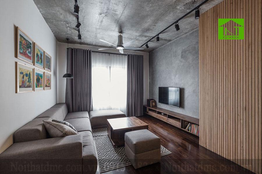 Mẫu thiết kế nội thất chung cư 78m2 ở Hà Nội, Việt Nam