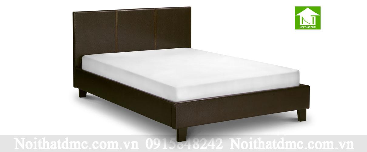 Mẫu giường ngủ bọc da GNBN03