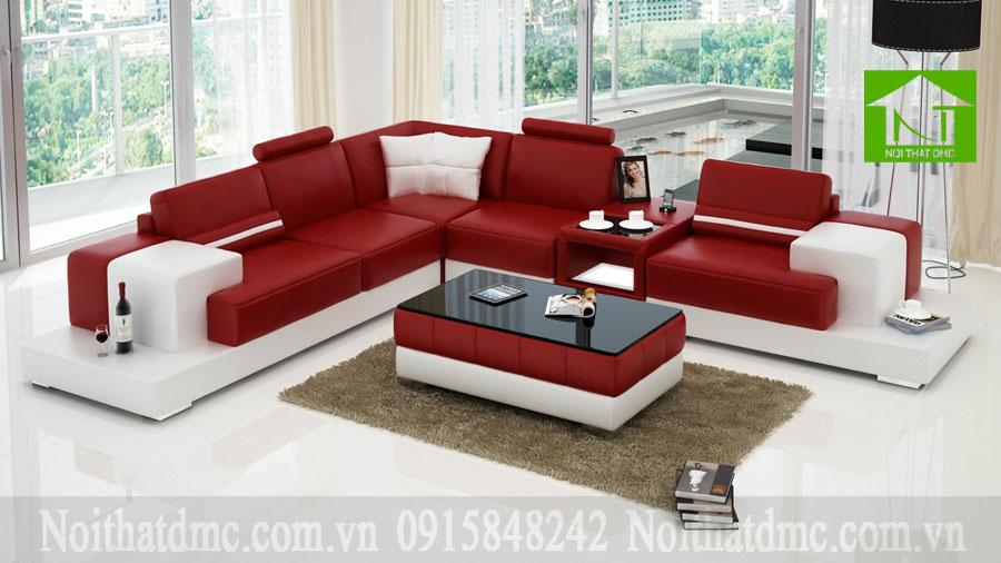 Bộ bàn ghế sofa phòng khách đẹp từ cái nhìn đầu tiên BGPKF06