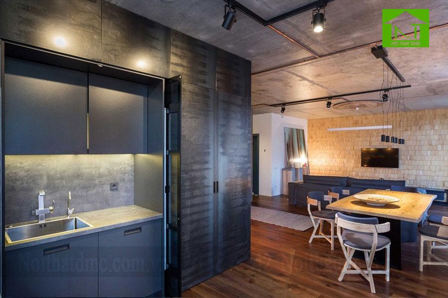 Mẫu thiết kế nội thất chung cư 65m2 ở Kiev, Ukraine