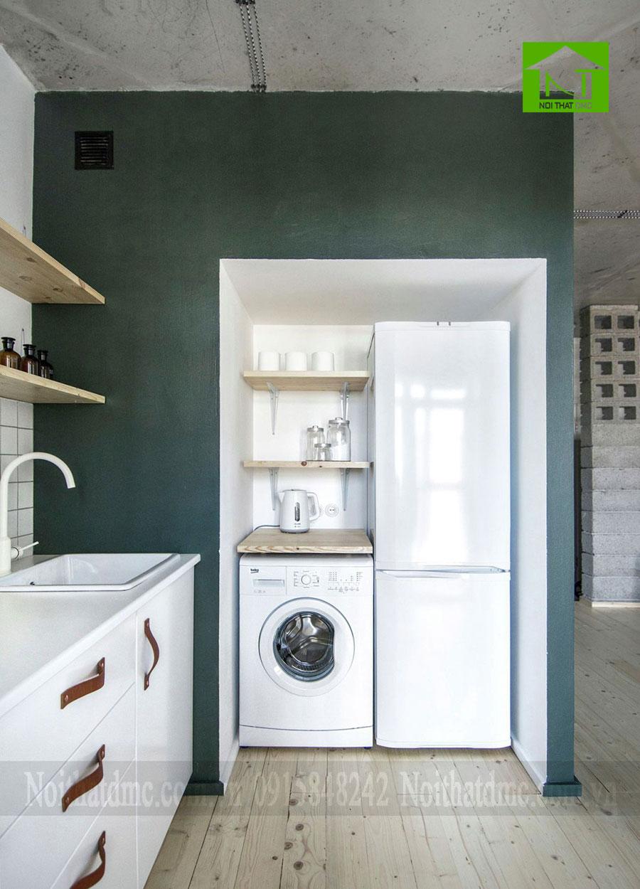 Mẫu thiết kế nội thất chung cư 62m2 ở Saint Petersburg, Nga