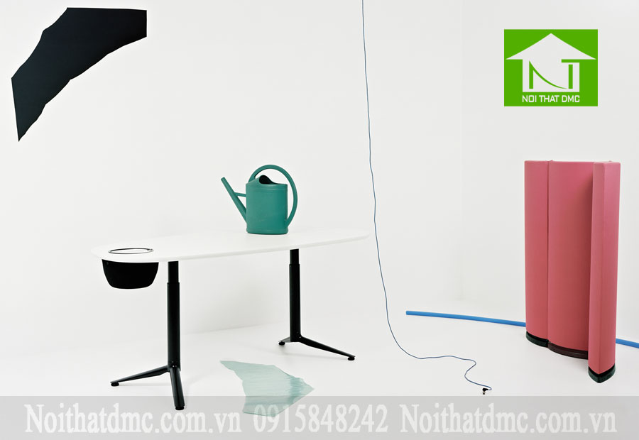 Tư vấn trang trí nội thất văn phòng với bàn điều chỉnh độ cao