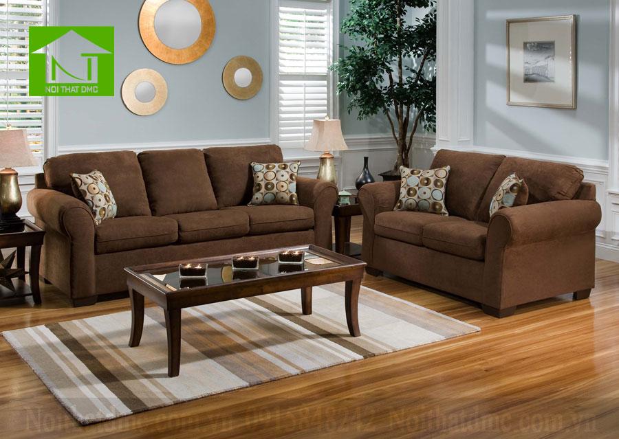 không gian nội thất ngôi nhà bạn với sắc nâu đầm ấm