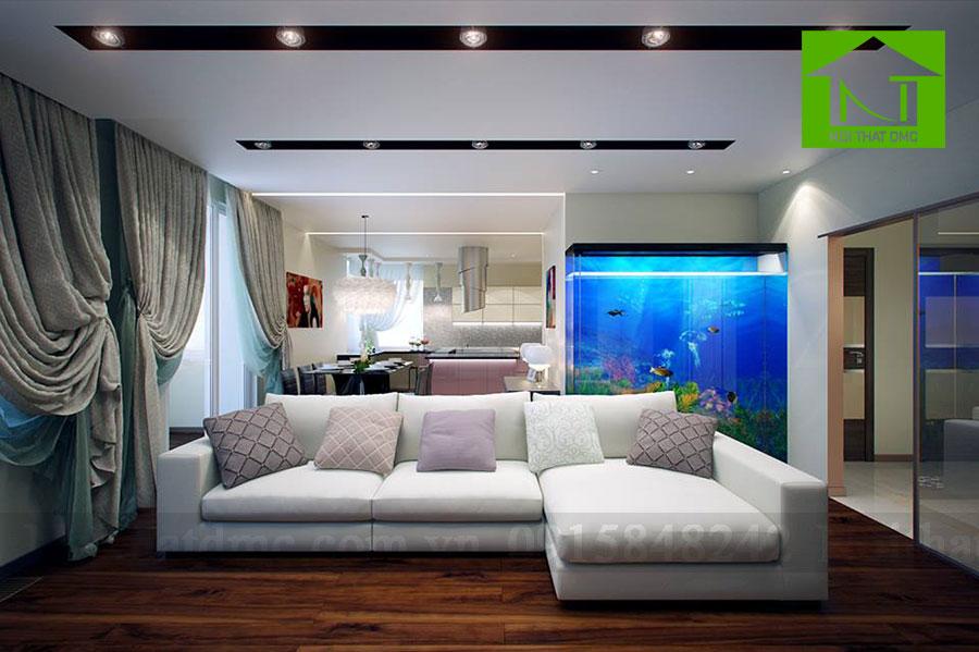 Tư vấn phong thủy khi đặt bể cá cảnh trong nhà