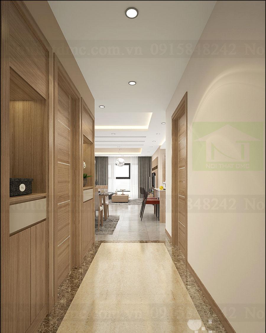 Thiết kế nội thất chung cư diện tích 119m2