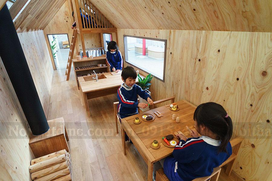 Thiết kế nội thất Trường Mầm non Ouchi