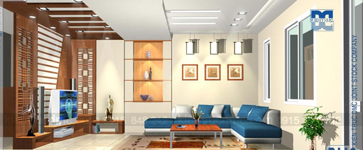 Thiết kế nội thất chung cư diện tích 90m2 phong cách hiện đại