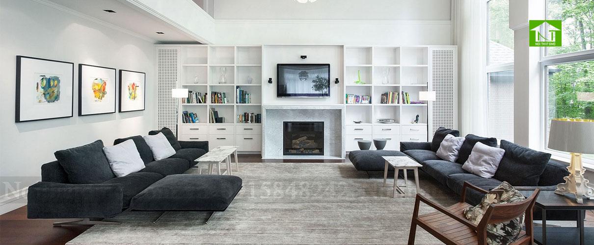 Lựa chọn màu sắc cho không gian phòng khách trong tư vấn phong thuỷ