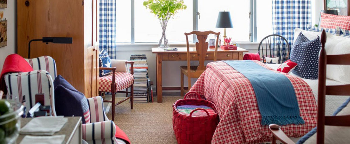 Thiết kế nội thất chung cư diện tích 25m2 đẹp ấn tượng với hai màu đỏ trắng