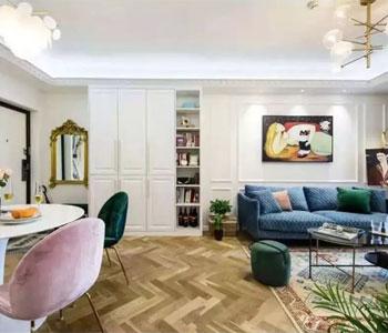 Thiết kế nội thất chung cư diện tích 79m2 đẹp, sang trọng