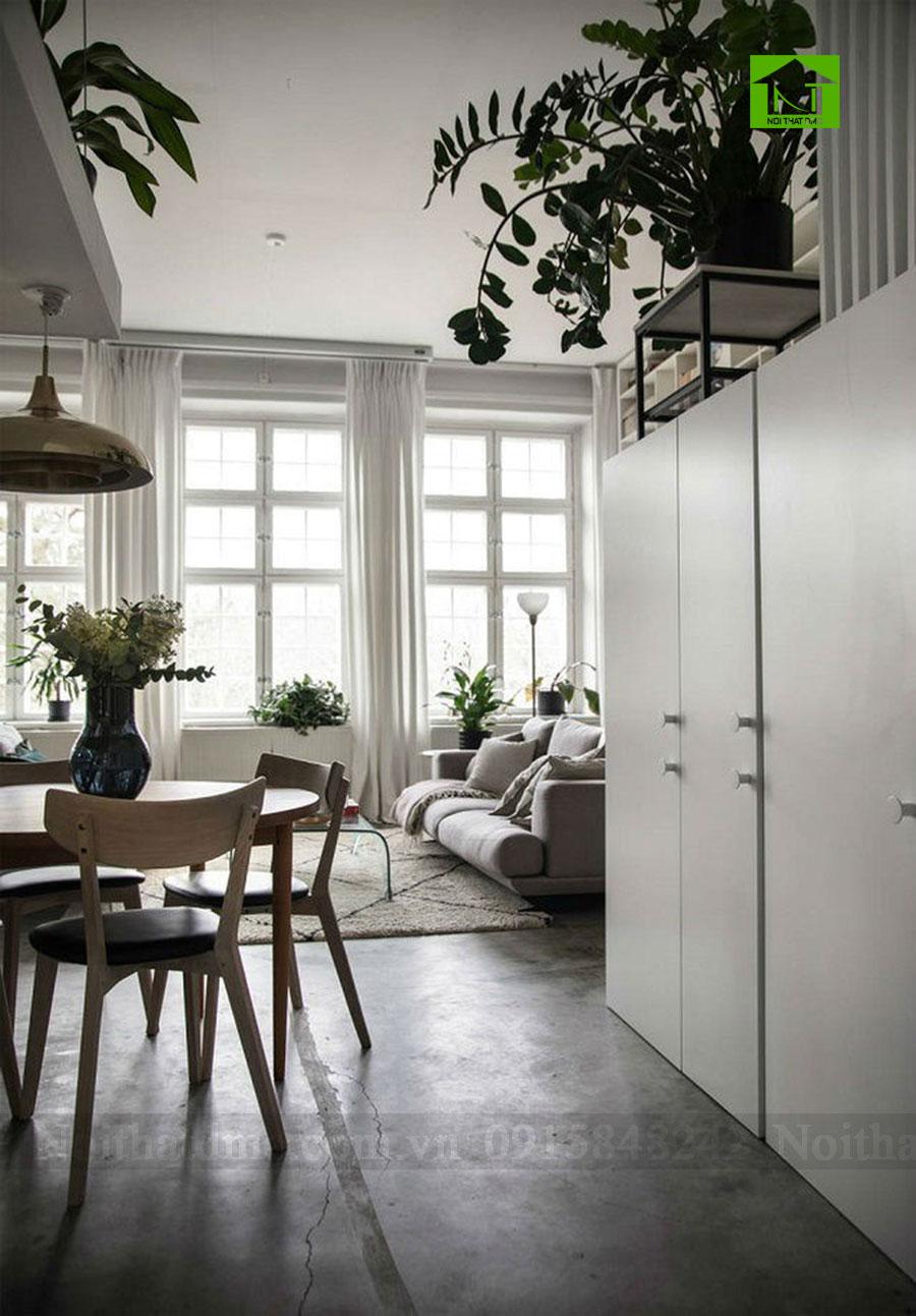 Tư vấn thiết kế nội thất cho không gian gác xép gọn gàng tinh tế
