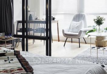 Thiết kế nội thất chung cư diện tích 48m2 ngập tràn ánh sáng