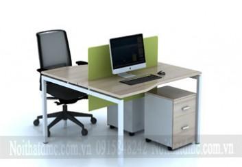 Mẫu bàn ghế nhân viên văn phòng – BGNV02