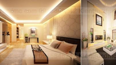 Thiết kế nội thất biệt thự Splendora phong cách hiện đại Châu Âu