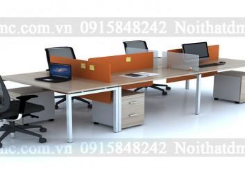 Mẫu bàn ghế nhân viên cao cấp – BGNV01