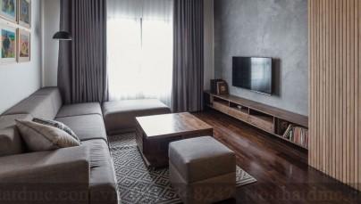 Mẫu thiết kế nội thất chung cư 78m2 ở Hà Nội