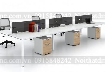 Bàn ghế nhân viên – BGNV03