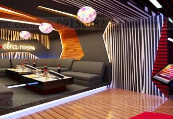 Mẫu thiết kế nội thất phòng giải trí karaoke